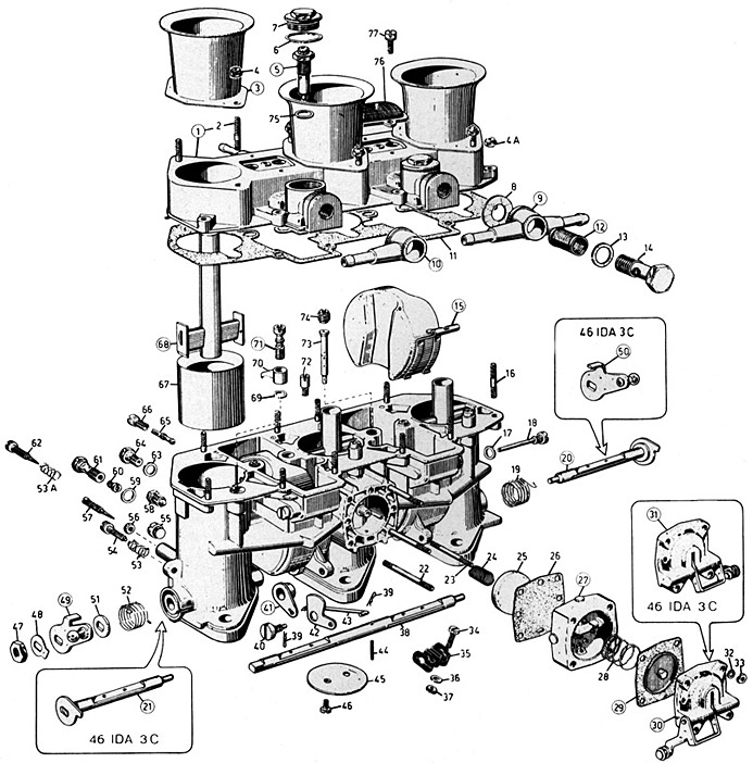 Zenith Carb 28 Parts Diagram on acura minivan