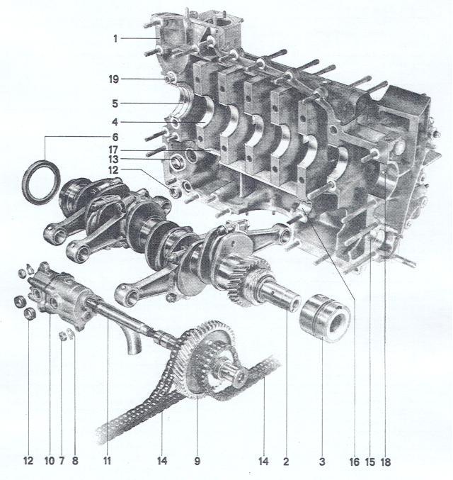 Pelican Parts Porsche 911 Amp 914 6 Crankshaft Amp Engine Case