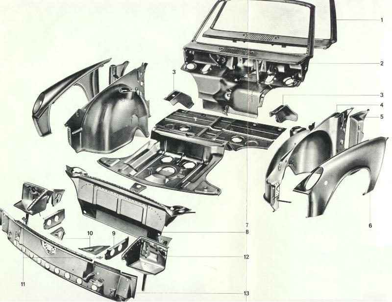 porsche 914 parts diagram  u2022 wiring diagram for free