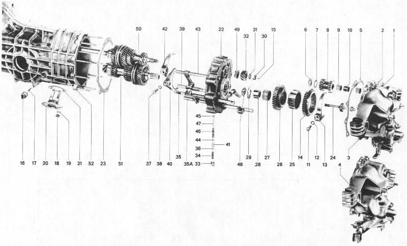 Pelican Parts  Porsche 914 Tail Shift Transmission Assembly