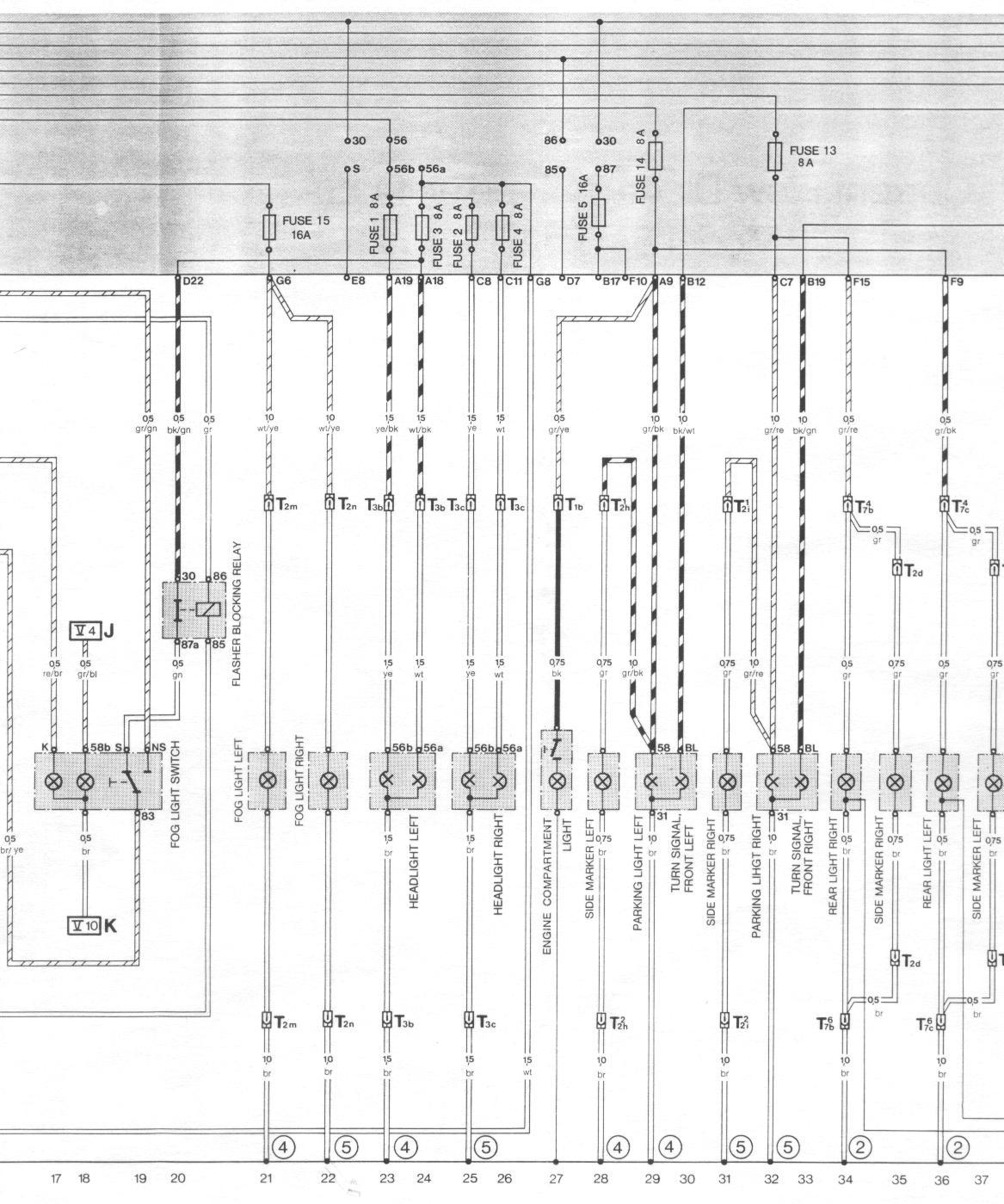 Coil Wiring Diagram For A 88 944 Sample 1983 Mustang Gt Pelican Parts Porsche 924 Electrical Diagrams