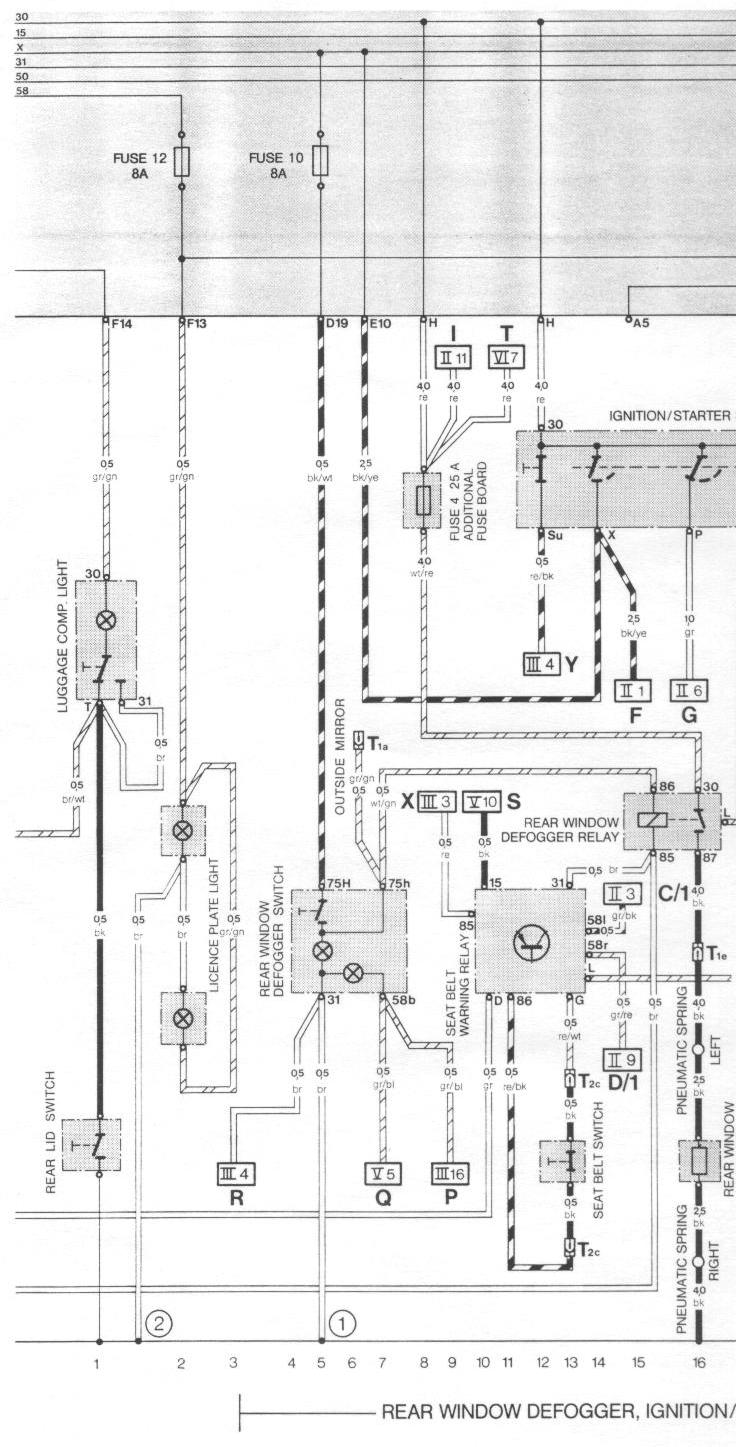 84 944 Fuse Box Diagram Wiring Data 2005 Audi A4 Engine 1983 Porsche Relay Touch Diagrams 911