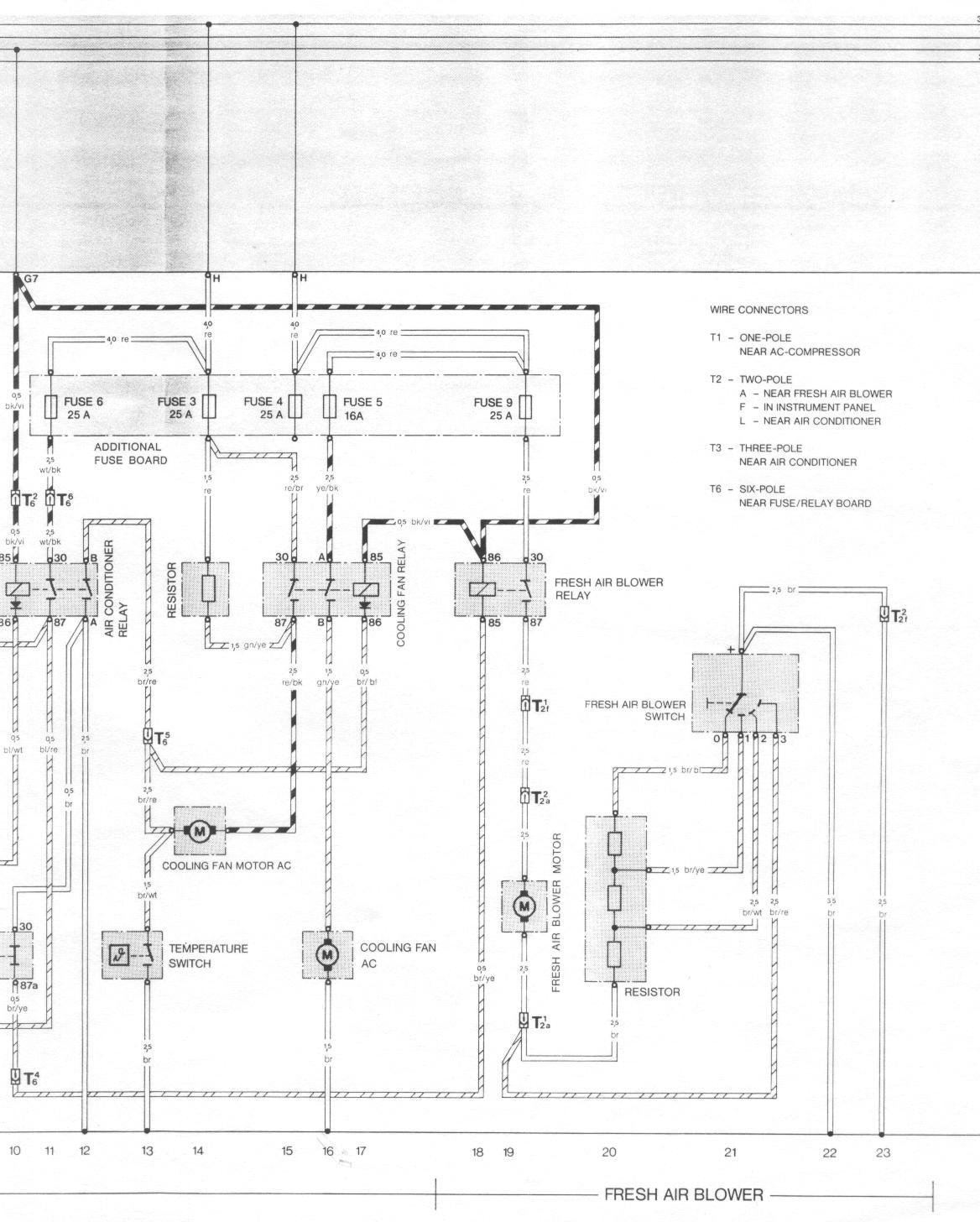 944_84_AC_2 1983 944 with air conditioning wiring question pelican parts 1987 porsche 944 wiring diagram at creativeand.co