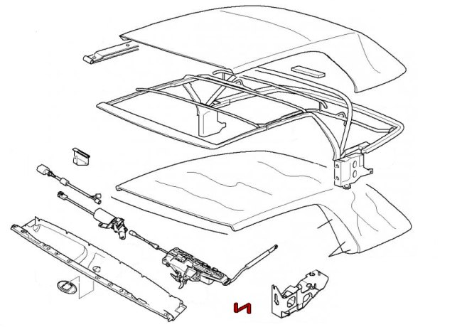 bmw 3-series e46  1999-2006  - convertible parts