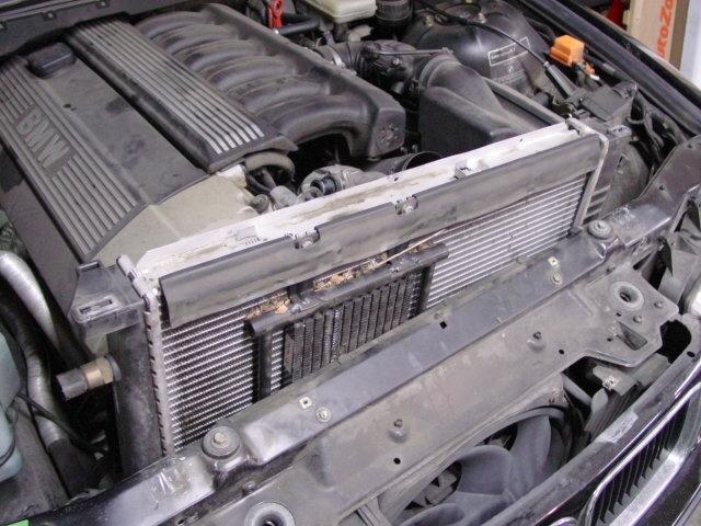 New BMW 528i Lower Radiator