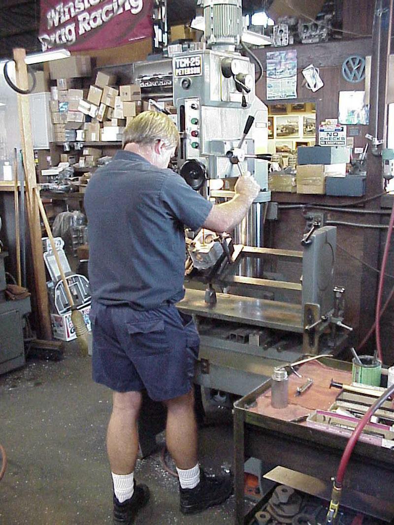 bmw machine shop