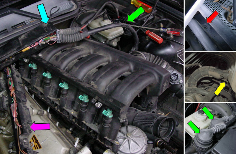 Bmw E36 3 Series Intake Manifold Removal 1992 1999 Pelican Parts Diy Maintenance Article