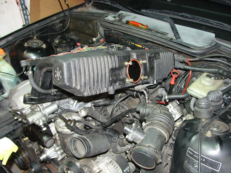 bmw e36 3 series intake manifold removal (1992 1999) pelicanDiagram Besides 1993 Bmw 325i Near The Oil Filter Diagram As Well Bmw #8