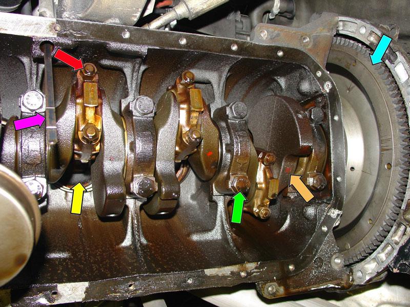 bmw m3 e92 rod bearing symptoms