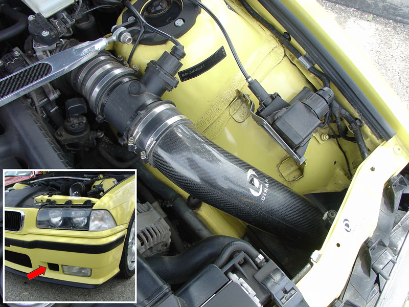 Bmw E30 E36 Performance Air Intake System Installation 3