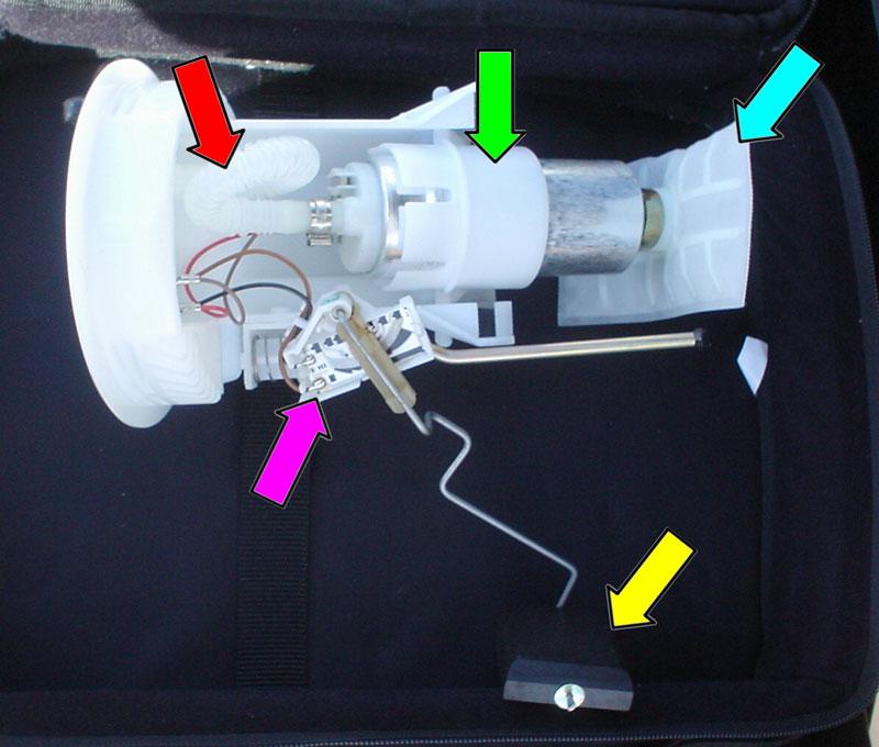 BMW E30/E36 Fuel Pump And Fuel Level Sender Replacement