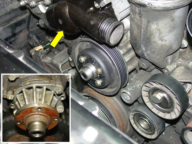 Pelican Technical Article Bmw Water Pump And Thermostat Replacement