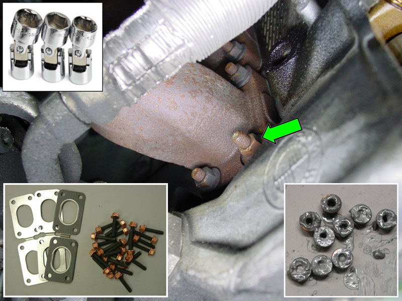 BMW E36 3-Series Exhaust Manifold Replacement (1992 - 1999
