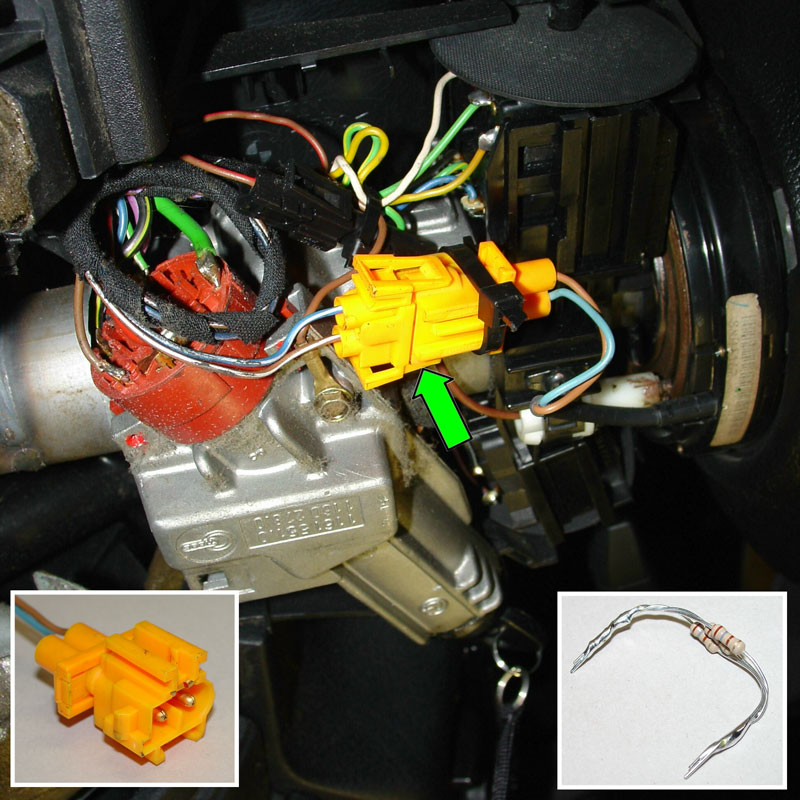 Pic2 01 purple two pin wire harness under steering wheel diagram wiring Ford Steering Column Diagram at edmiracle.co