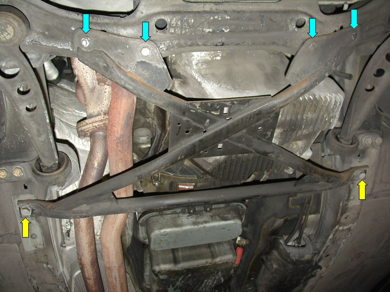 Does Your 1994 E36 Cabrio Have An X Brace On It Oem Like The Rest Of Us