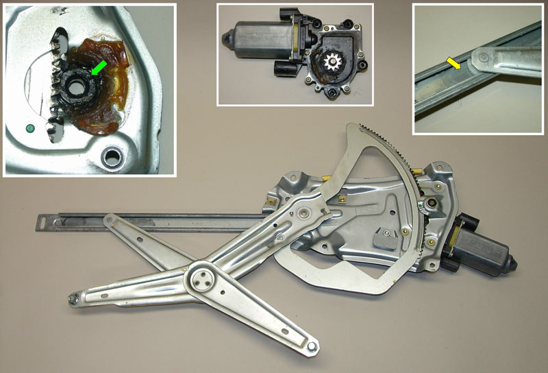 Pic5 01 bmw e30 e36 window regulator and motor replacement 3 series  at n-0.co