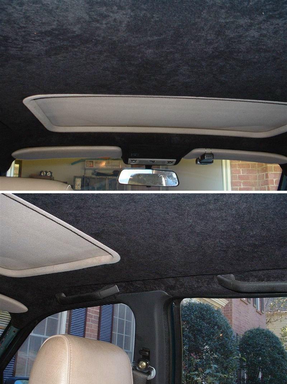 Car interior roof repair - Figure