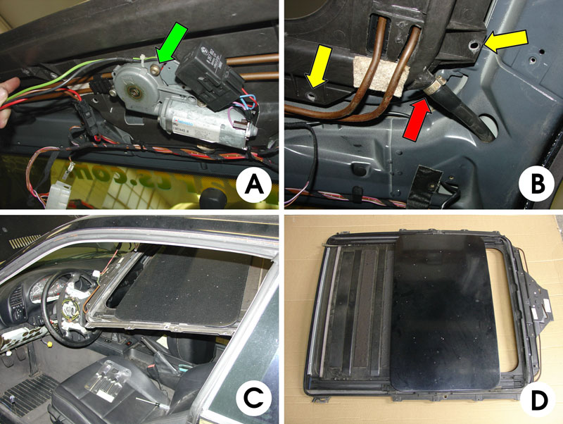 Bmw E36 3 Series Sunroof Removal And Repair 1992 1999