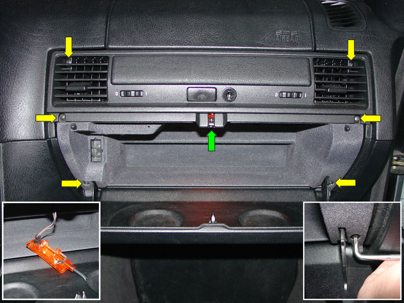 bmw e36 3-series alarm installation  1992