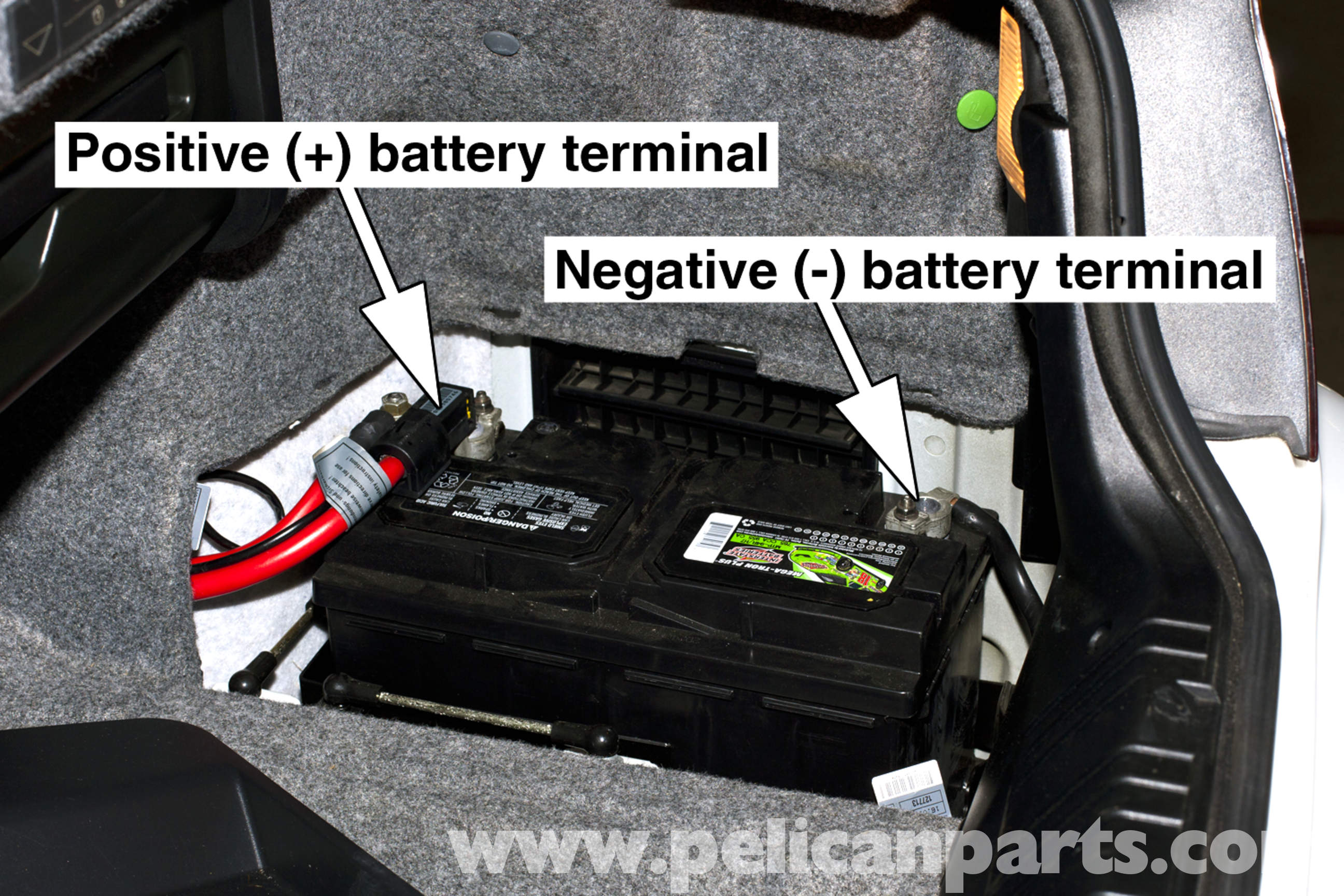 bmw e46 battery replacement and connection notes bmw 325i 2001 2005 bmw 3. Black Bedroom Furniture Sets. Home Design Ideas