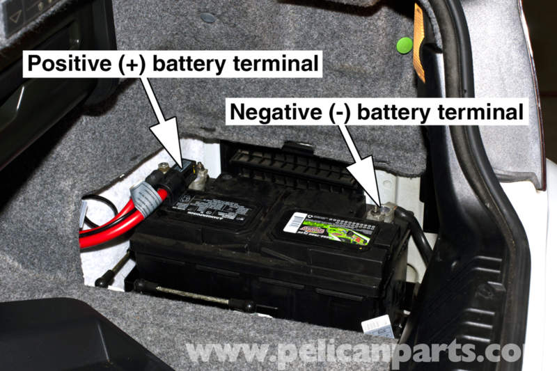 Bmw E46 Battery Replacement And Connection Notes 325i 2001 Rhpelicanparts: 2005 Bmw 325i Battery Location At Elf-jo.com