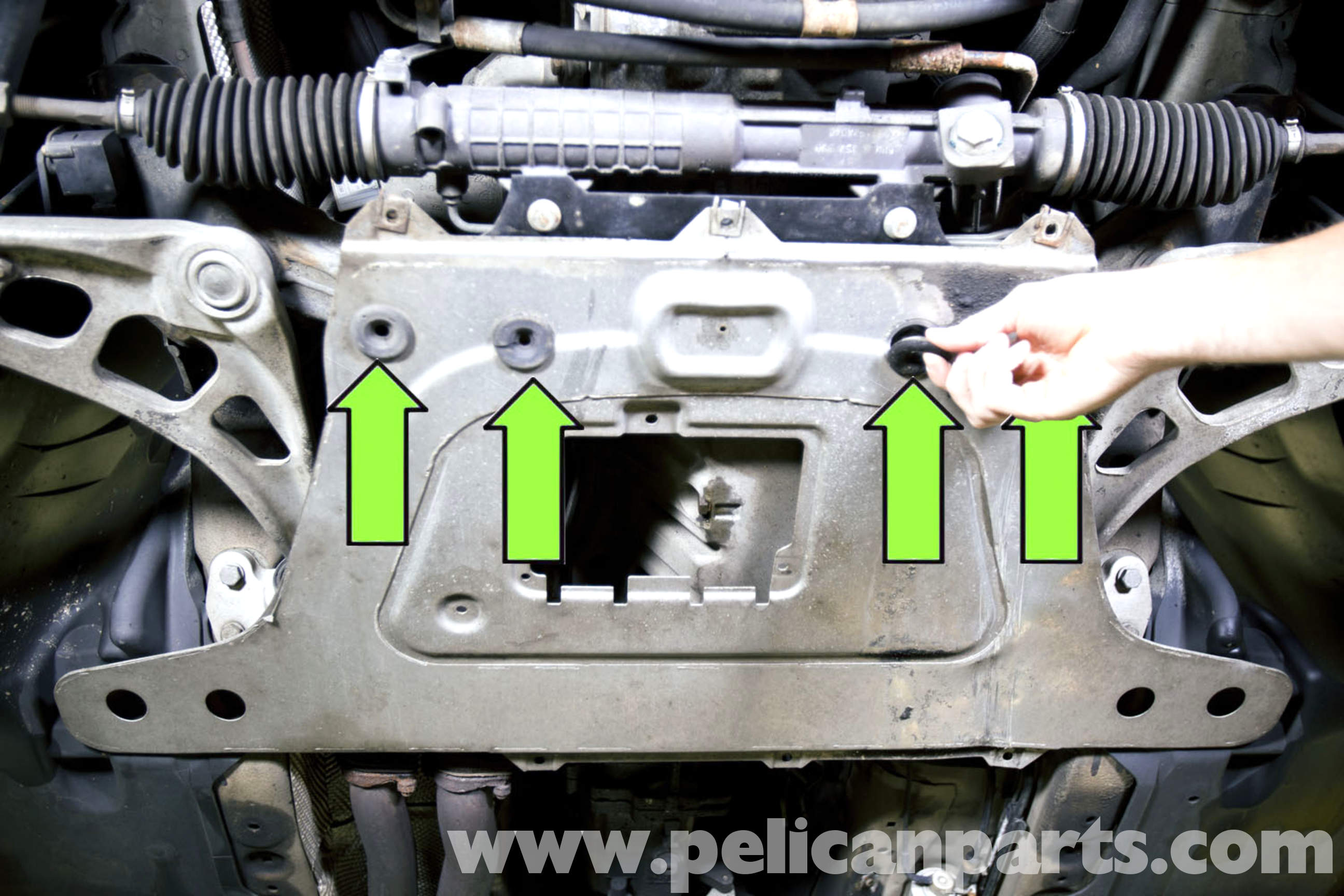 Bmw 325ci Engine Diagram Manual Of Wiring 2001 330ci E46 Splash Shield And Plate Removal 325i 2003 2004