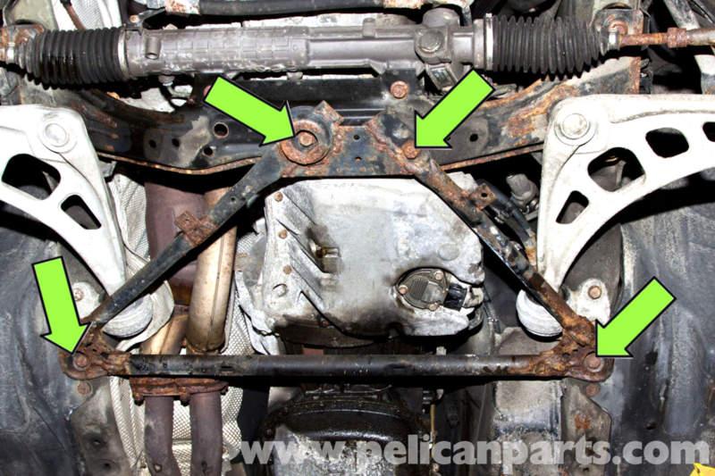 Bmw E46 Splash Shield And Plate Removal Bmw 325i 2001