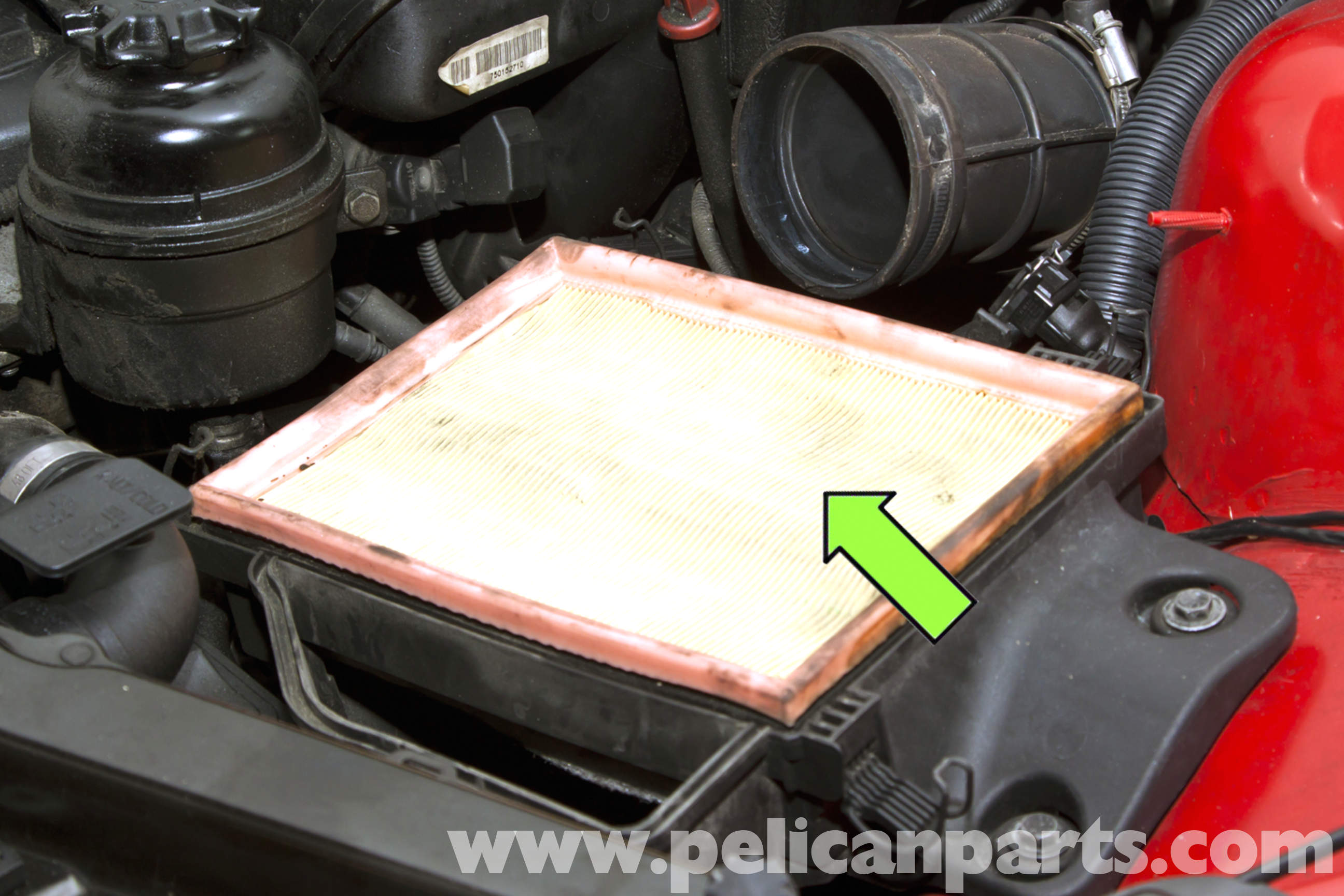 Bmw E46 Air Filter Replacement Bmw 325i 2001 2005 Bmw