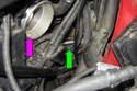 Remove plug from crankcase.
