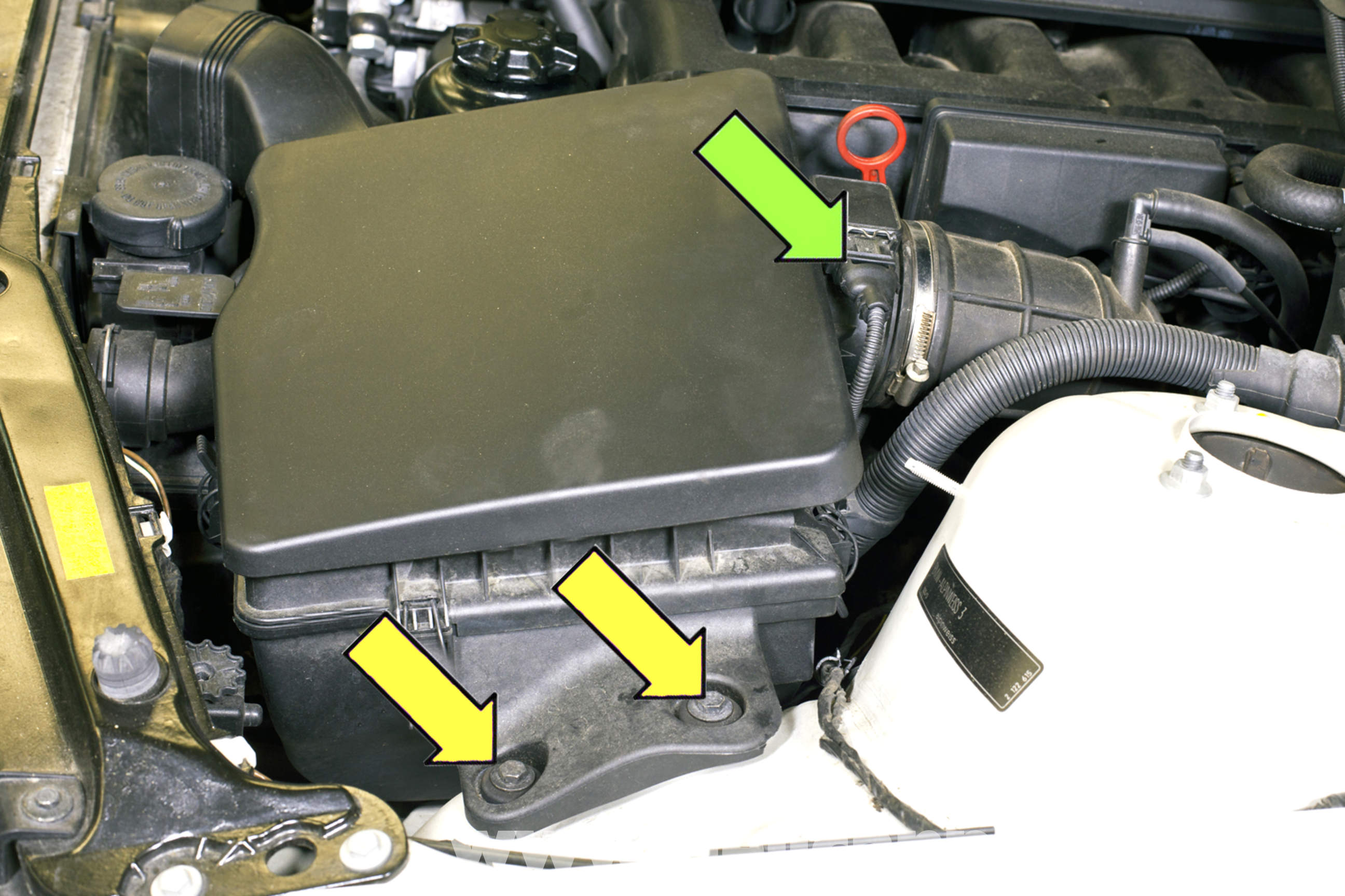 Bmw E46 Crankcase Breather Valve Replacement 325i 2001 2005 Wiring Harness Large Image Extra