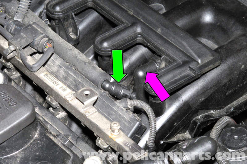 Bmw E46 Crankcase Breather Valve Replacement 325i 20012005 Rhpelicanparts: 2006 Bmw 330i Dipstick Location At Gmaili.net