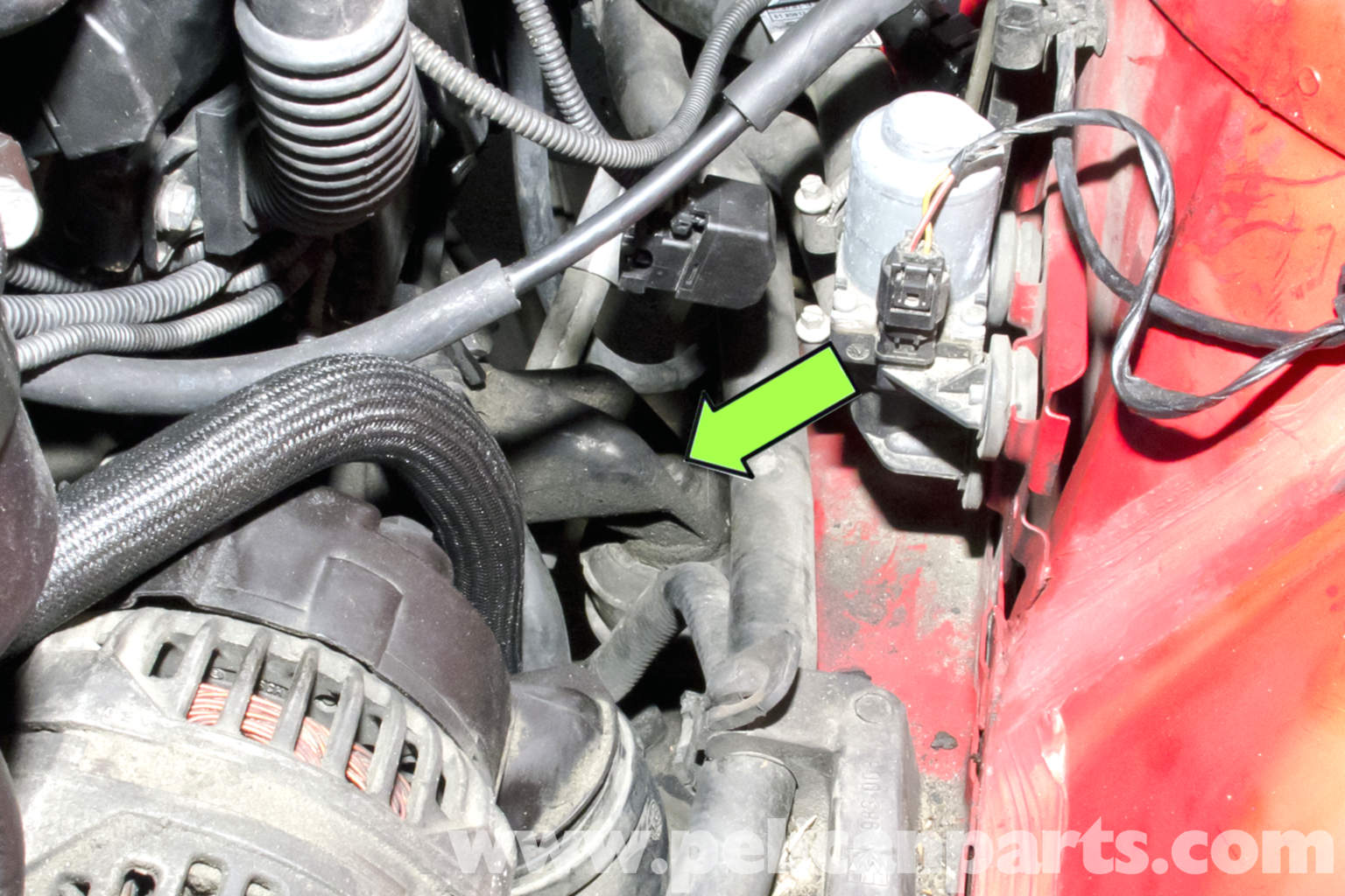 BMW E46 Engine Mount Replacement   BMW 325i (2001-2005 ...
