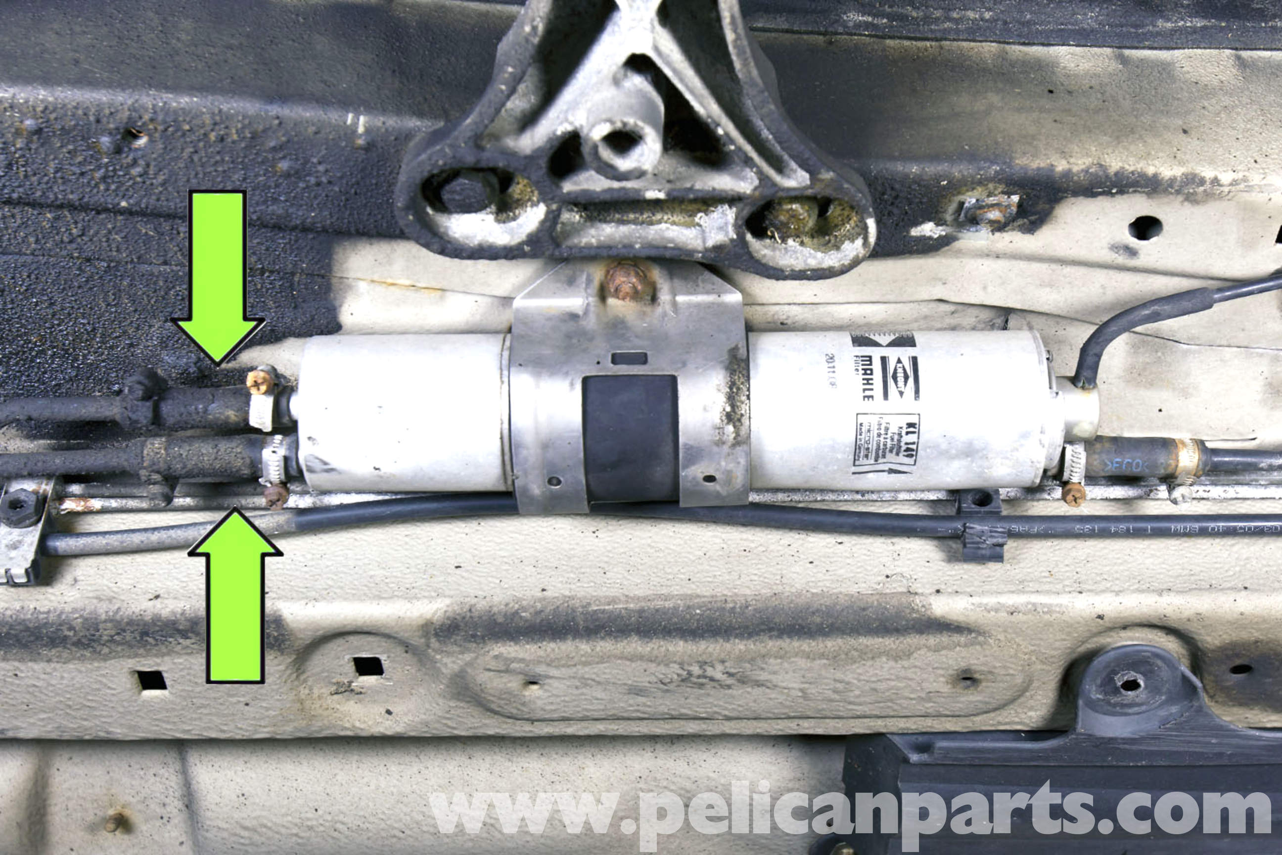 Bmw E46 Fuel Filter Replacement Bmw 325i 2001 2005