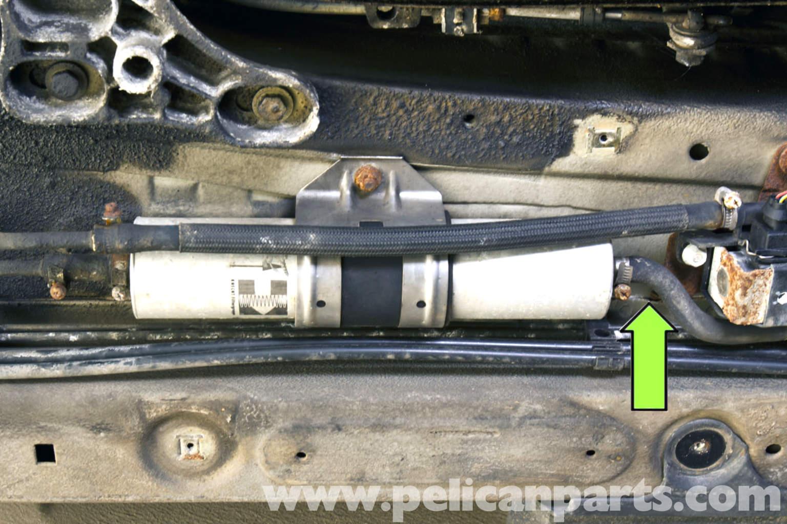 E46 Vacuum Line Fuel Filter Wire Data Schema Bmw E30 Replacement 325i 2001 2005 Symptoms