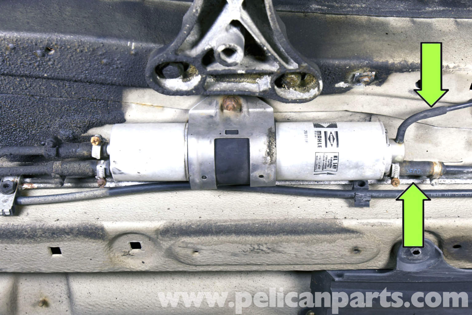BMW E46 Fuel Filter Replacement | BMW 325i (2001-2005), BMW 325Xi