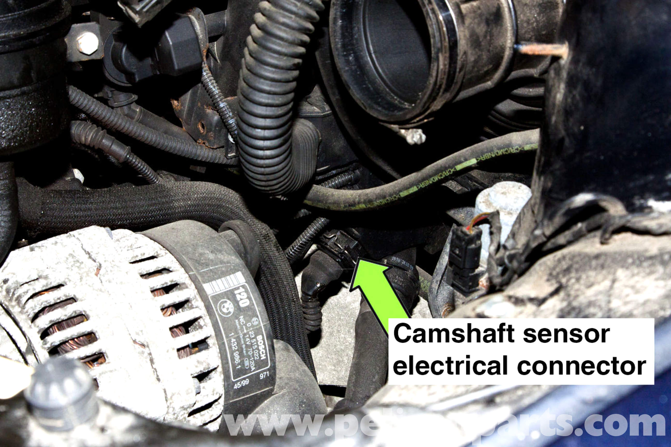 Bmw E46 Camshaft Sensor Replacement 325i 2001 2005 Wiring Diagram Large Image Extra Exhaust