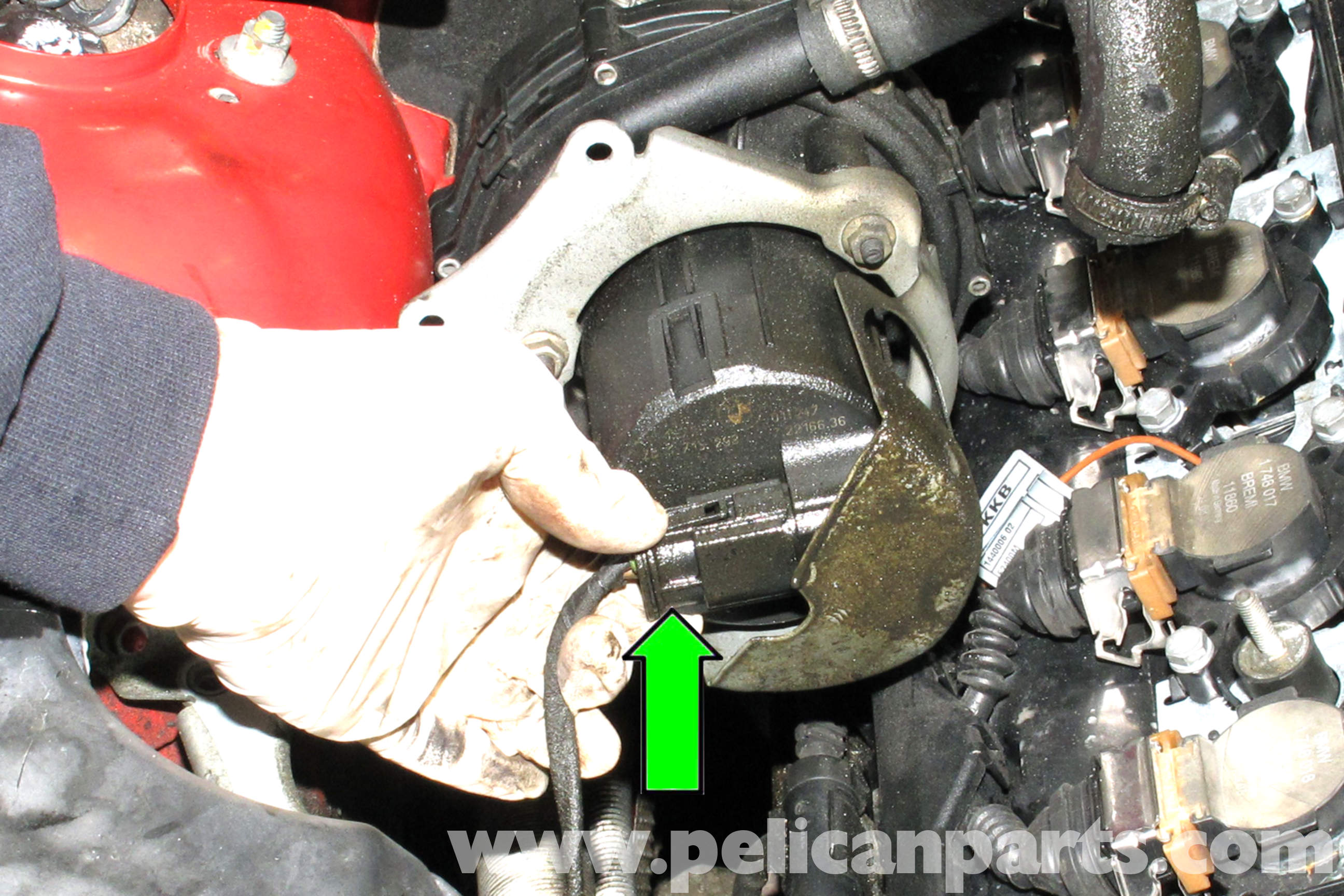 BMW E46 Secondary Air Component Replacement   BMW 325i (2001