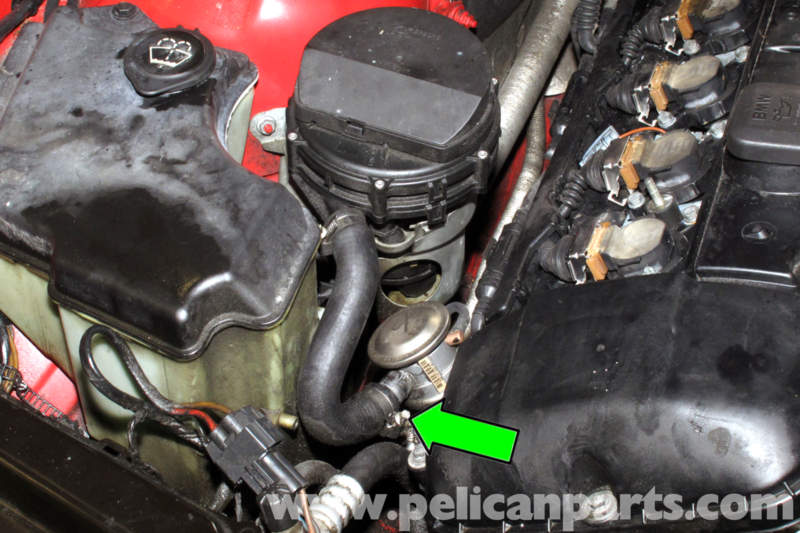 Bmw E46 Secondary Air Component Replacement Bmw 325i