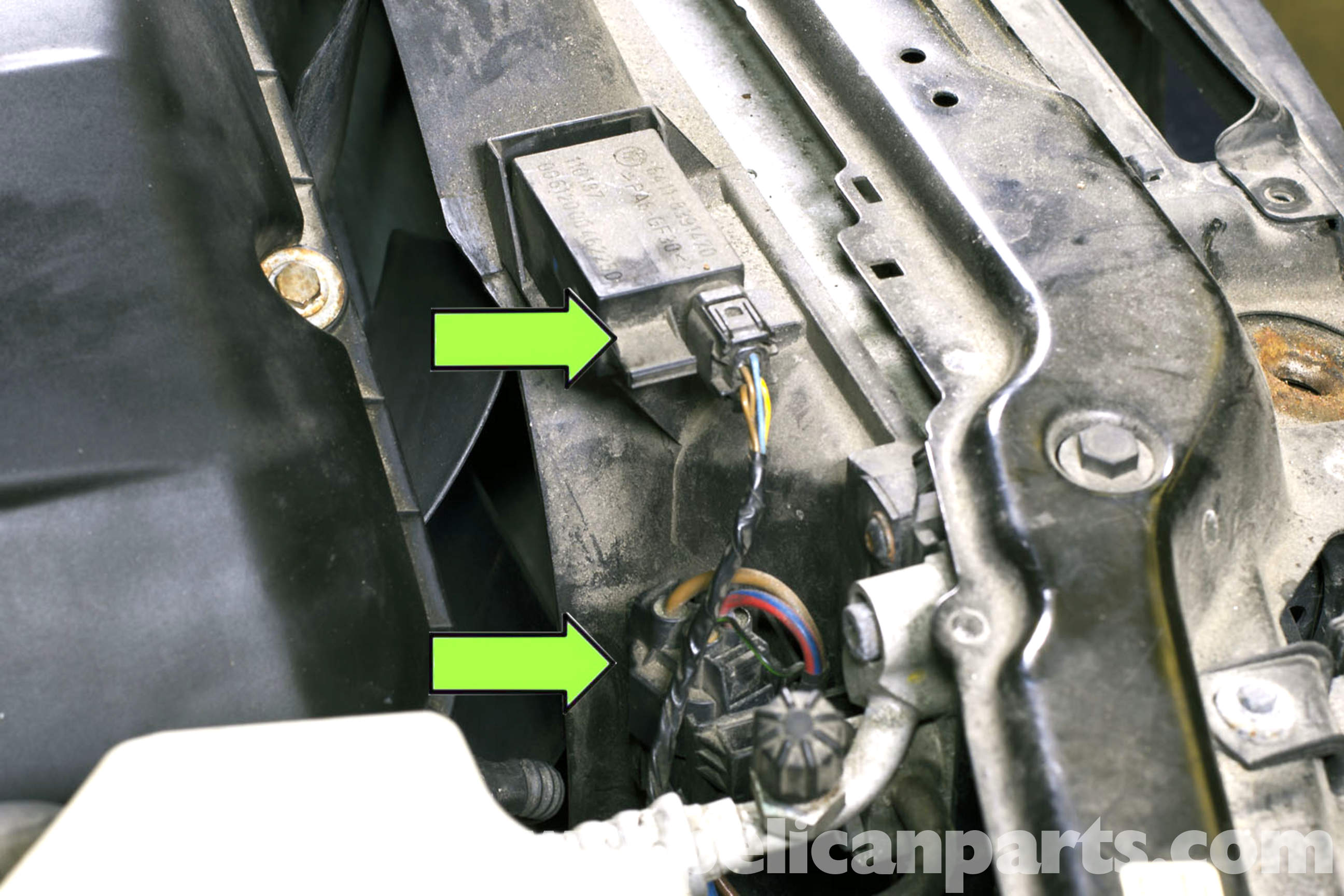 Bmw E46 Cooling Fan Replacement Bmw 325i 2001 2005