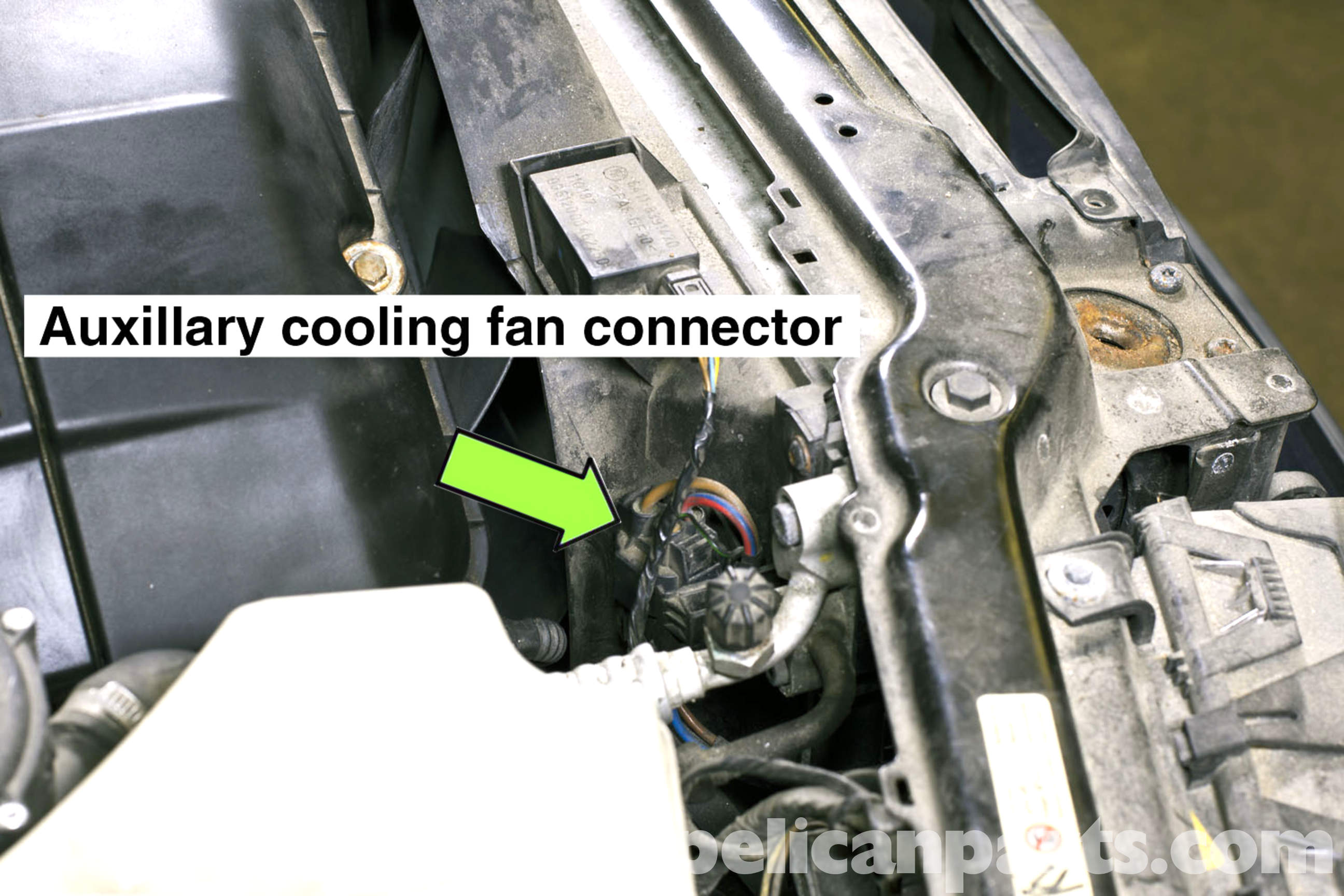 bmw e46 cooling fan replacement