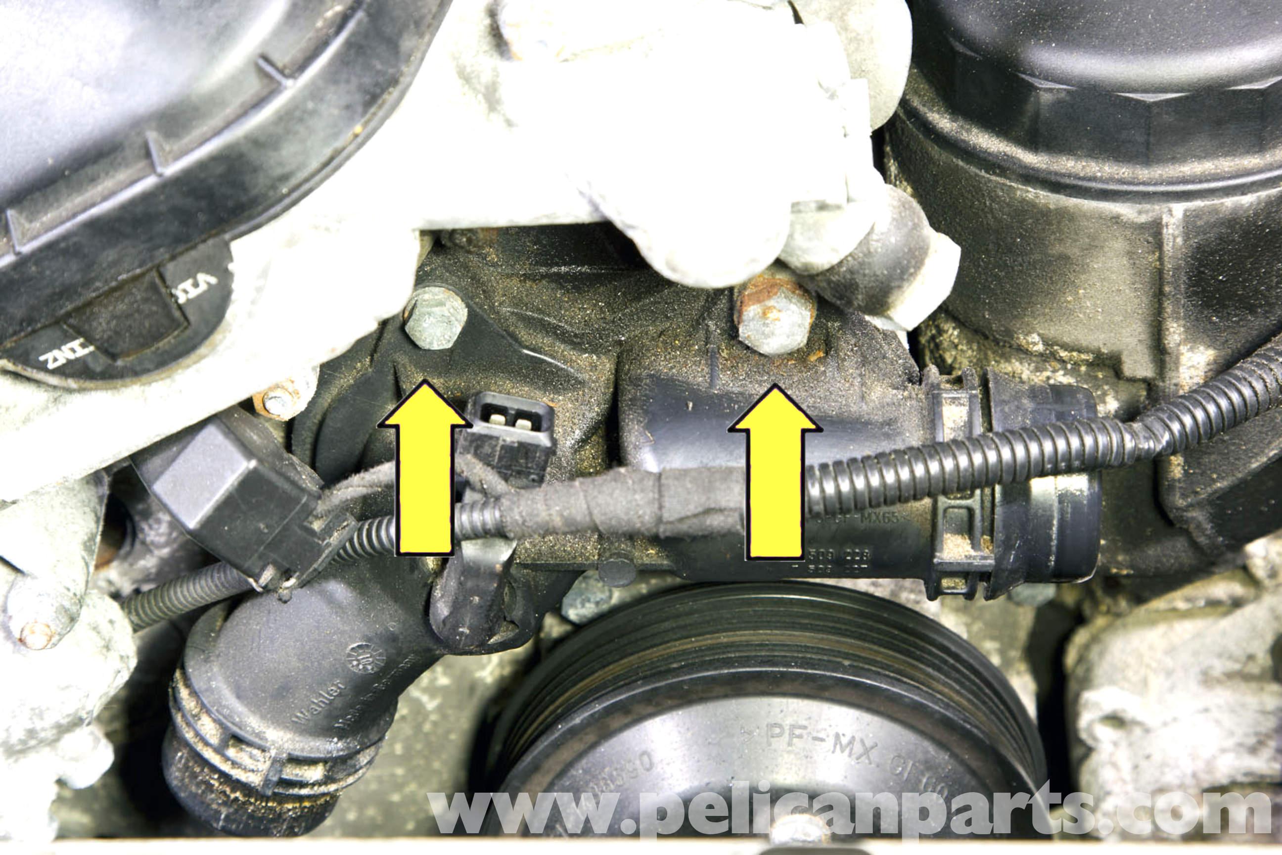 2002 BMW 325Ci >> BMW E46 Thermostat Replacement | BMW 325i (2001-2005), BMW ...