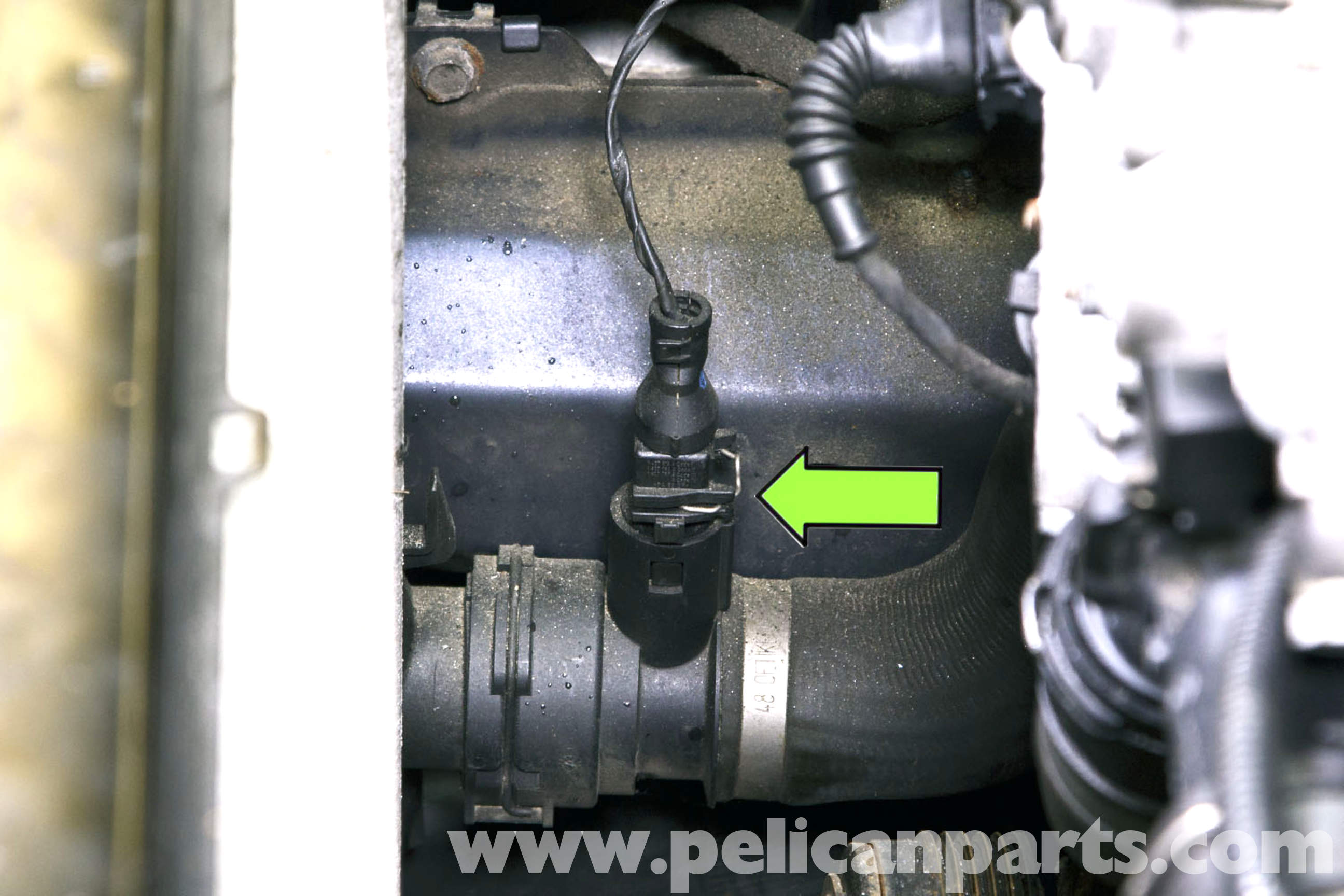 pic01 bmw e46 radiator outlet temperature sensor replacement bmw 325i e46 fan wiring diagram at readyjetset.co