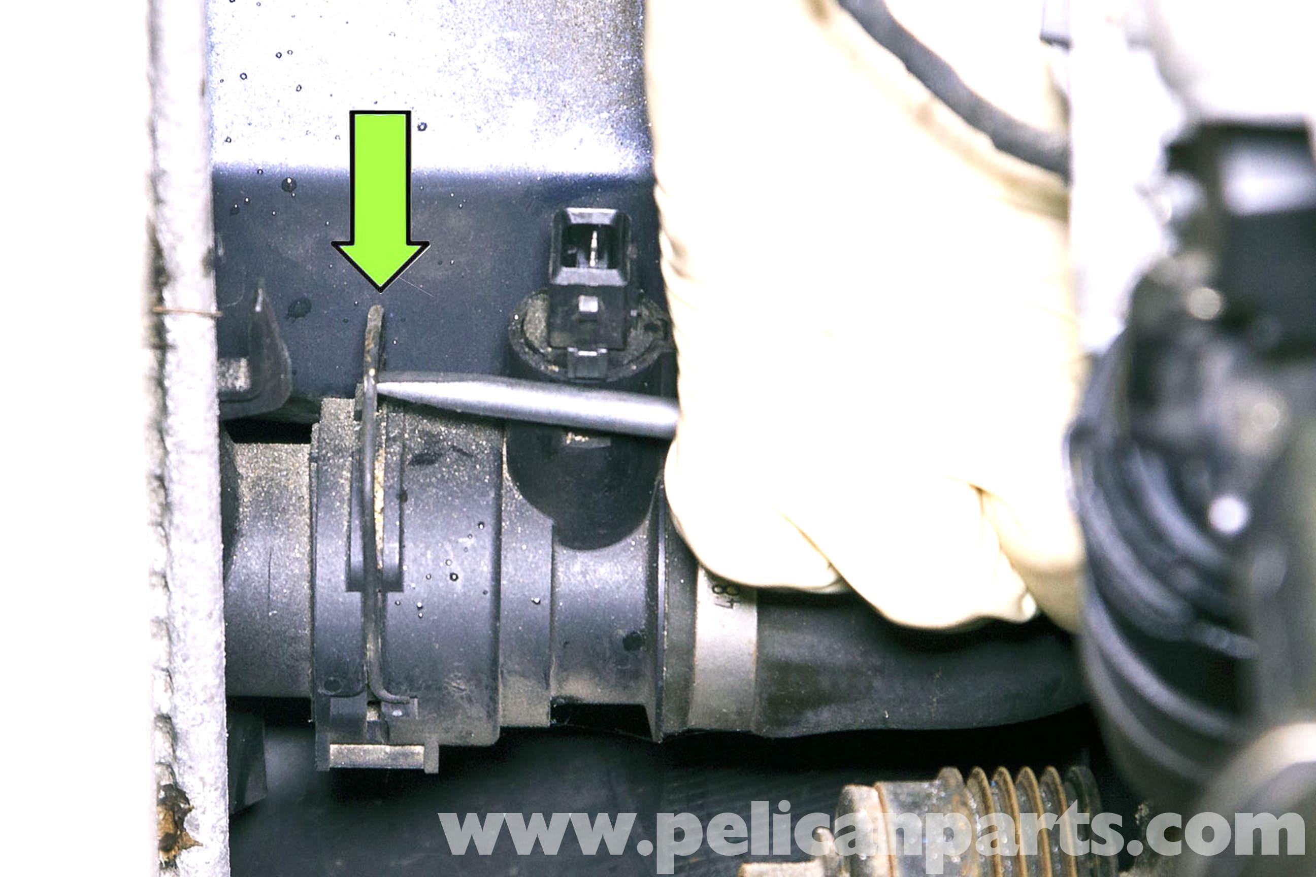 Subaru Engine Coolant : Bmw e radiator replacement i