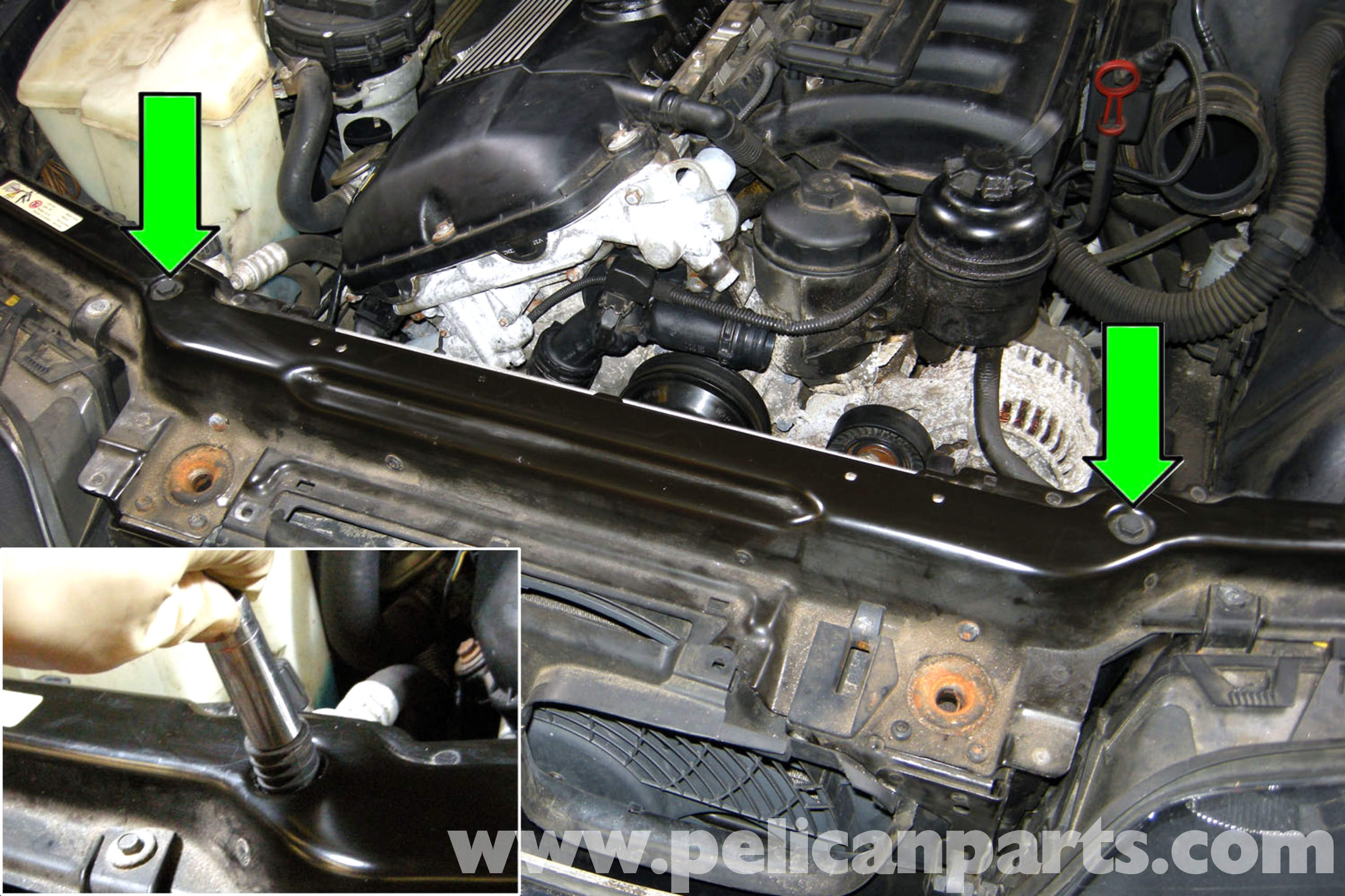 Bmw X5 Radiator Repair Images