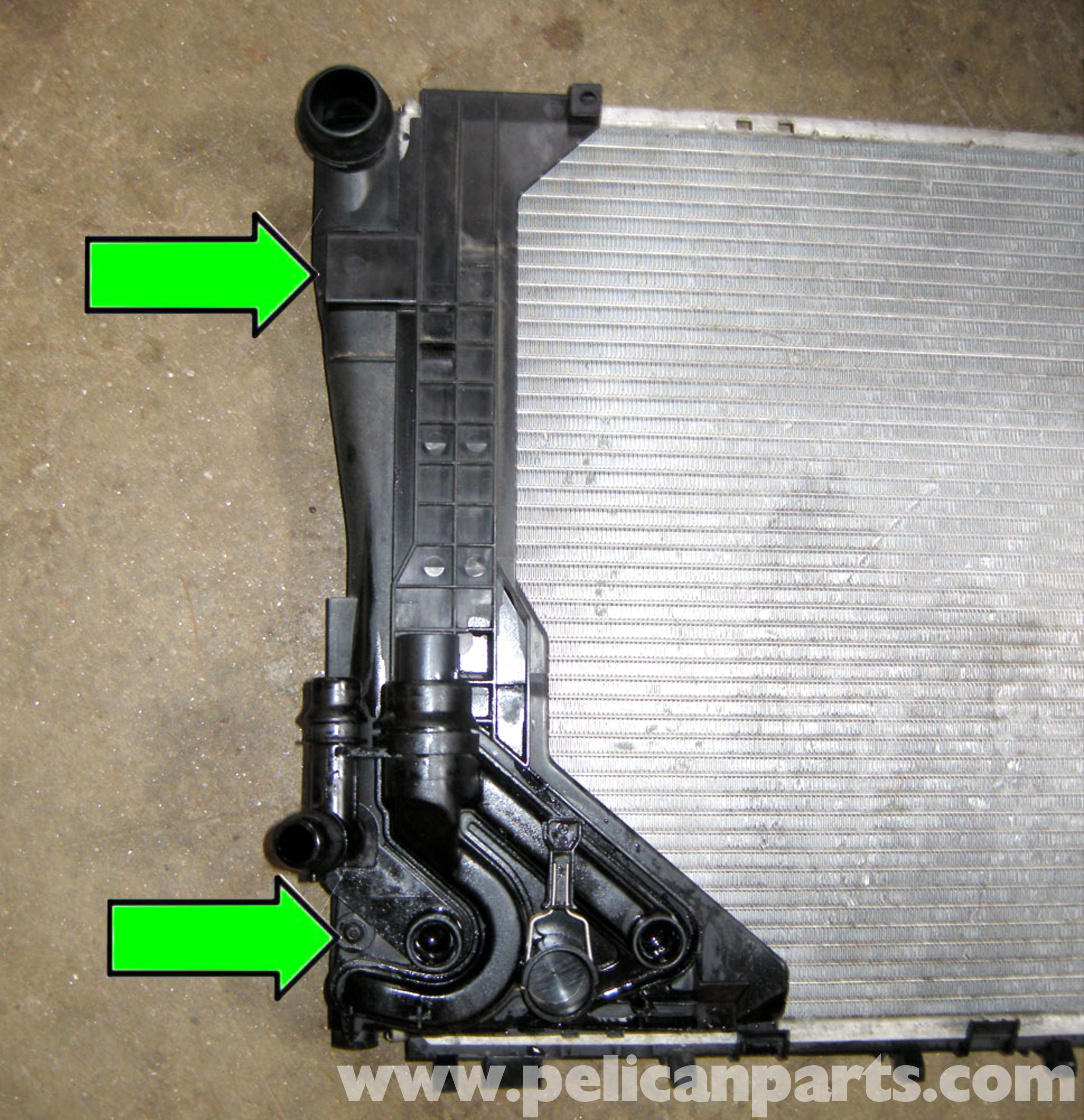 bmw e46 radiator replacement