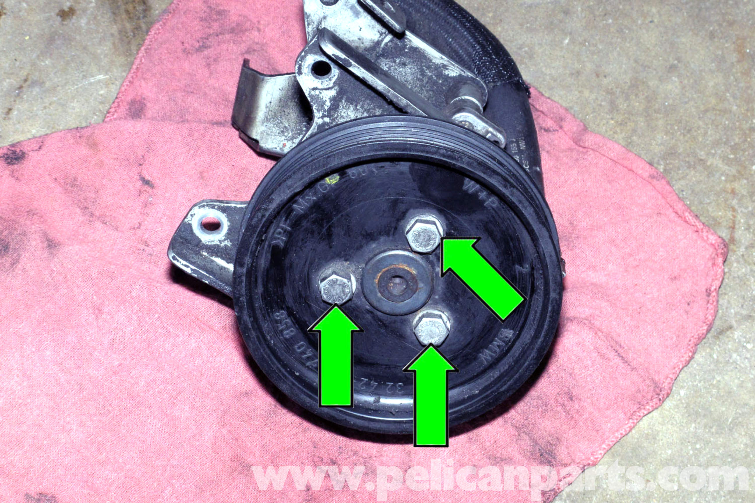 Bmw E46 Power Steering Pump Replacement Bmw 325i 2001