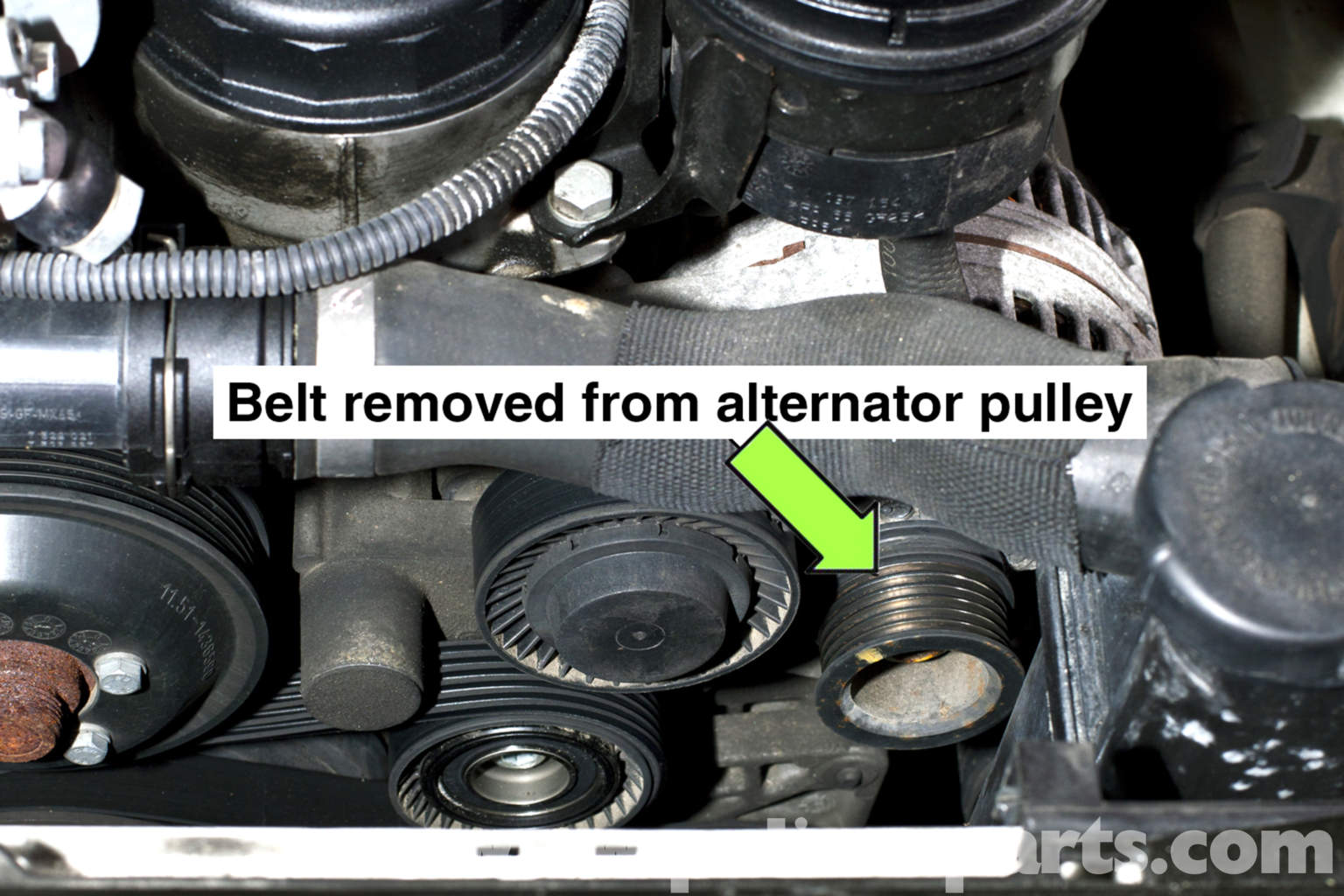 Bmw E46 Power Steering Pump Replacement 325i 2001 2005 Ford Taurus Engine Diagram Intake Large Image