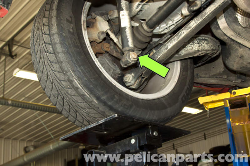 E Touring Rear Shock Replacement