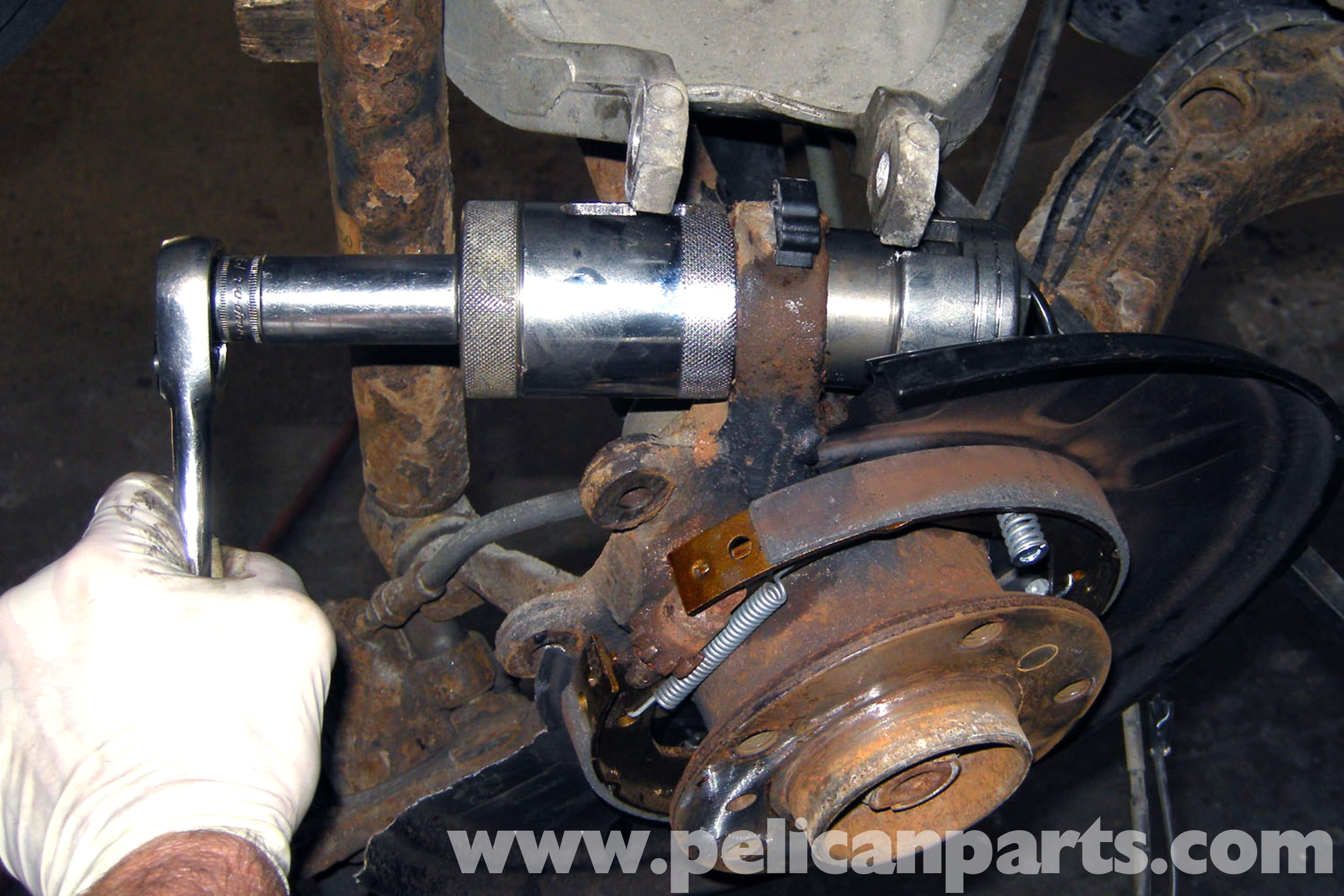 Bmw E46 Rear Upper Ball Joint Replacement