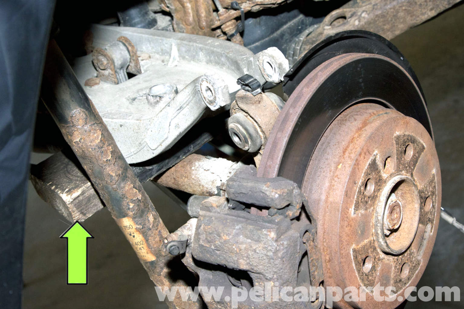 Ball Joint Replacement : Bmw e rear upper ball joint replacement i